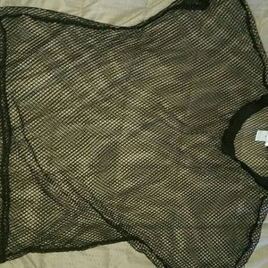 iHeartRaves Fishnet Shirt 💙